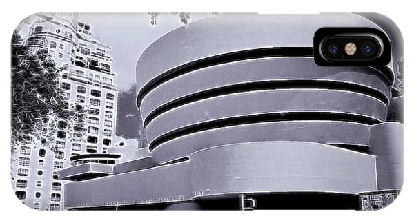 The Guggenheim Black And White IPhone Case