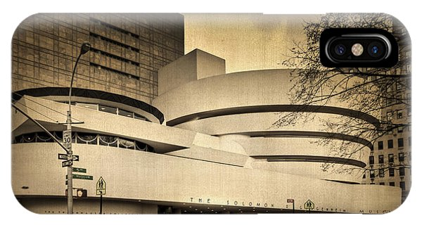 New York City Taxi iPhone Case - The Guggenheim by Evelina Kremsdorf