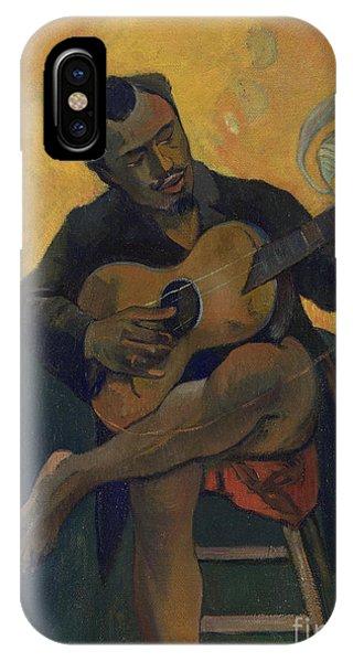 Strum iPhone Case - The Guitarist by Paul Gauguin