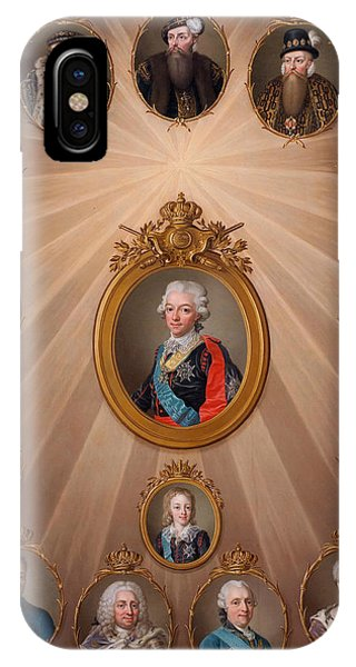 Swedish Painters iPhone Case - The Gustavian Family by Ulrika Pasch