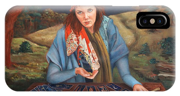 The Gypsy Fortune Teller IPhone Case