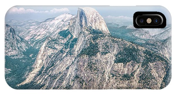 The Half Dome Yosemite Np IPhone Case