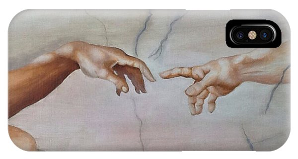 The Hand Of God IPhone Case