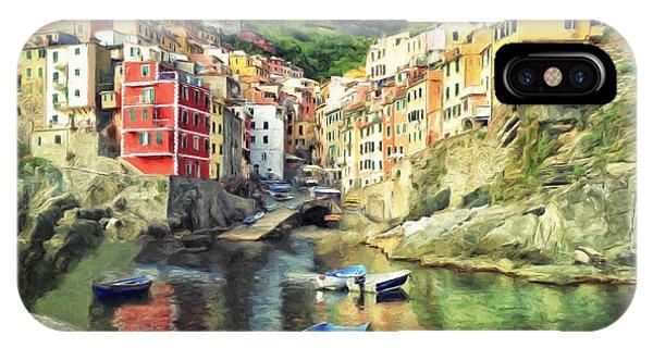 The Harbor At Rio Maggiore IPhone Case