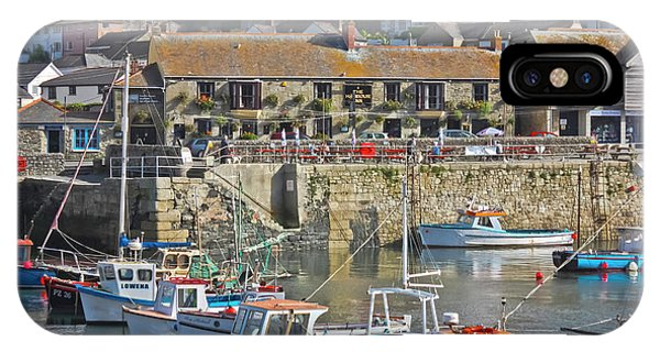 The Harbour Inn Porthleven IPhone Case