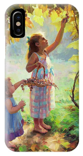 Rural iPhone Case - The Harvesters by Steve Henderson