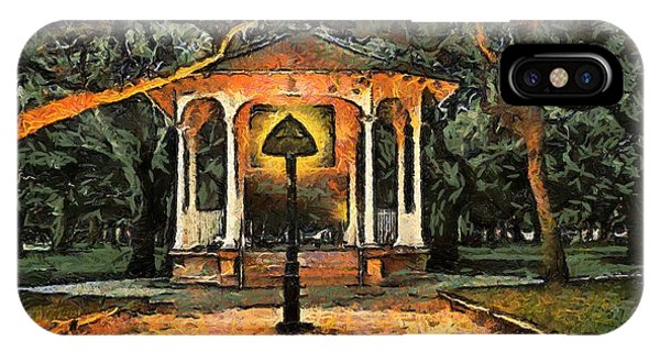 The Haunted Gazebo IPhone Case