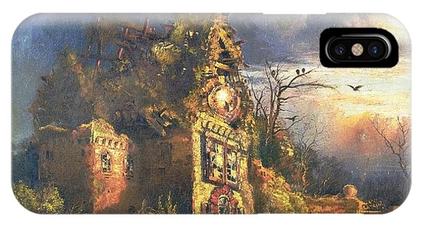 Imagination iPhone Case - The Haunted House by Thomas Moran