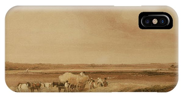 The Hayfield IPhone Case