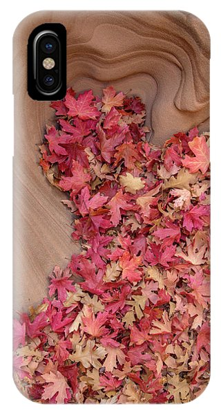 IPhone Case featuring the photograph The Heart Of Autumn by Dustin LeFevre
