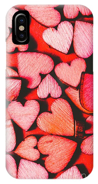 Valentine iPhone Case - The Heart Of Decor by Jorgo Photography - Wall Art Gallery