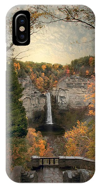The Heart Of Taughannock IPhone Case