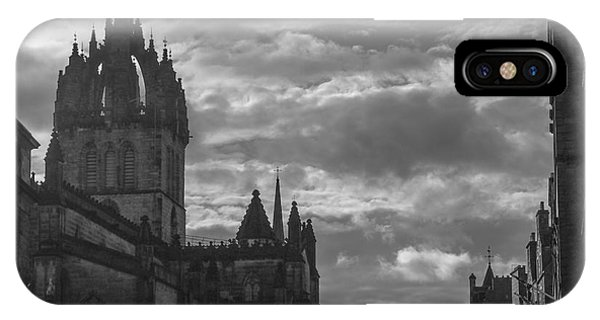 The High Kirk Of Edinburgh IPhone Case