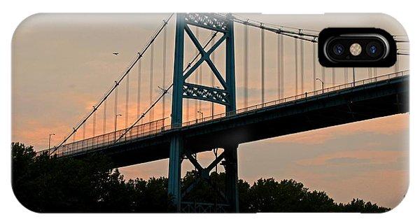 The High Level Aka Anthony Wayne Bridge I IPhone Case