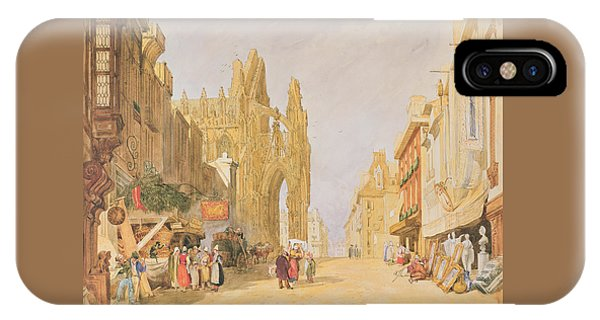 The High Street At Alencon IPhone Case