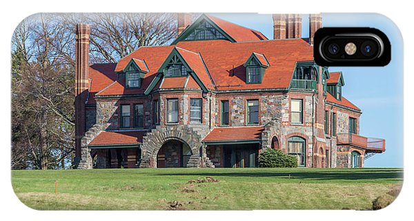 The Historic Eustis Estate In Milton Massachusetts IPhone Case