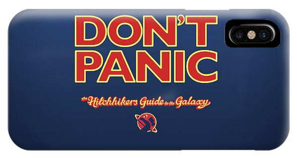 Design iPhone Case - The Hitchhiker's Guide To The Galaxy by Super Lovely