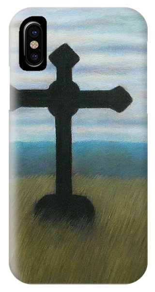 The Holy Cross IPhone Case