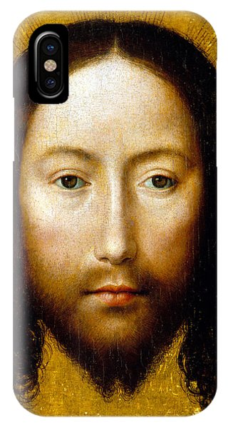 Shrouds iPhone Case - The Holy Face by Flemish School