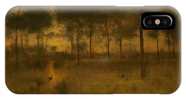 The Home Of The Heron IPhone Case