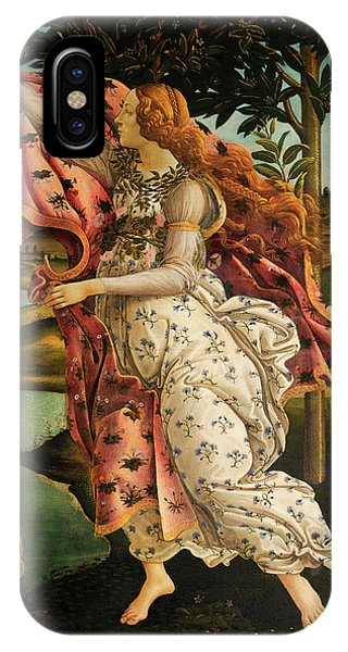 Botticelli iPhone Case - The Hora Of Spring by Sandro Botticelli