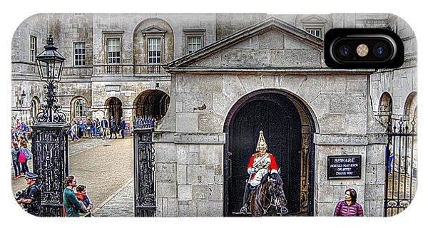The Horse Guard At Whitehall IPhone Case