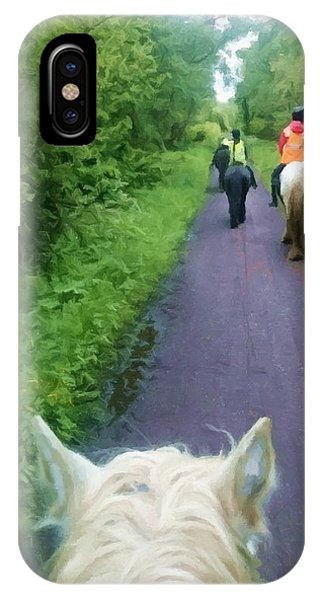 The Horse Ride IPhone Case