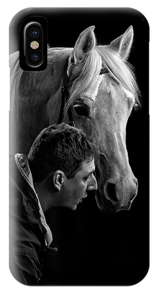 The Horse Whisperer Extraordinaire IPhone Case