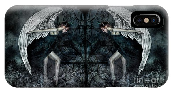 The Hosts Of Seraphim IPhone Case