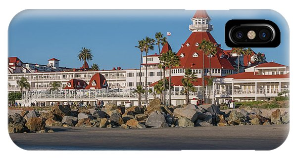 The Hotel Del Coronado IPhone Case