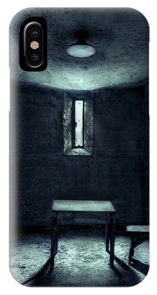 Table iPhone Case - The House Of A Locked Mind by Evelina Kremsdorf