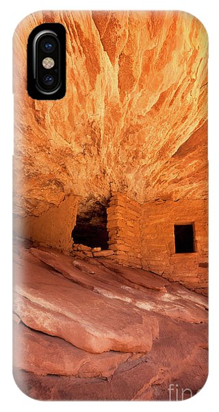 Indian Village iPhone Case - The House Of Fire by Jane Rix