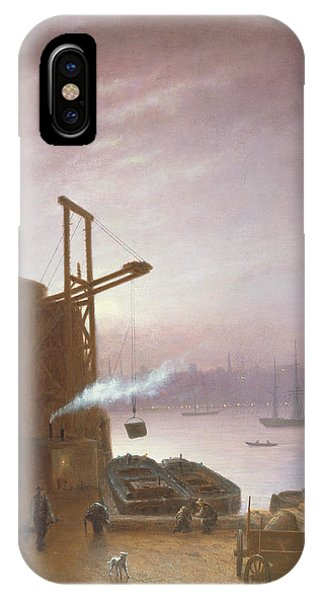 The Hudson River From Hoboken IPhone Case