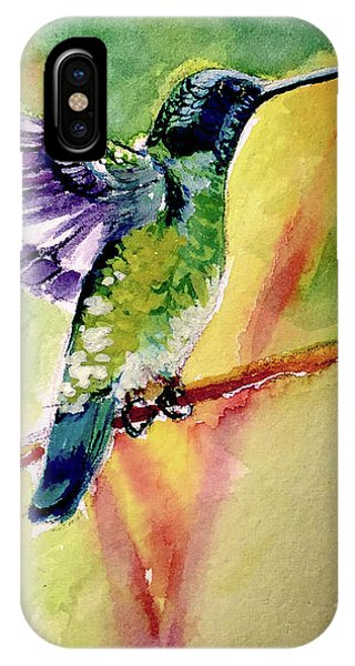 The Hummingbird IPhone Case