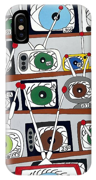 The Hungry Eye IPhone Case