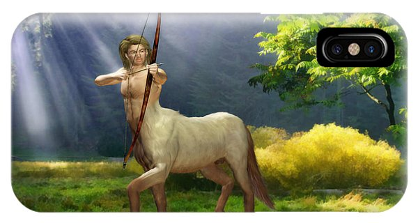 Centaur iPhone Case - The Hunter by John Edwards