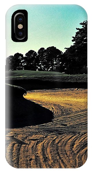 The Hustle And Bustle Has Come To An End On The Golf Course IPhone Case