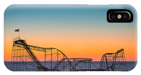Nikon iPhone Case - The Iconic Star Jet Roller Coaster by Michael Ver Sprill