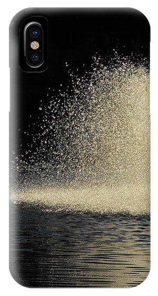 The Illusion Of Dark And Light With Water IPhone Case
