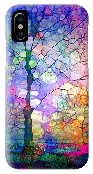 Uplift iPhone Case - The Imagination Of Trees by Tara Turner
