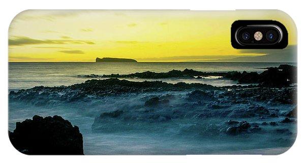 The Infinite Spirit  Tranquil Island Of Twilight Maui Hawaii  IPhone Case