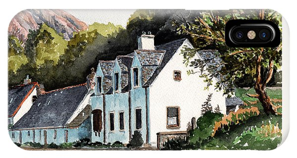 Aztec iPhone Case - The Inn Scotland by Timithy L Gordon