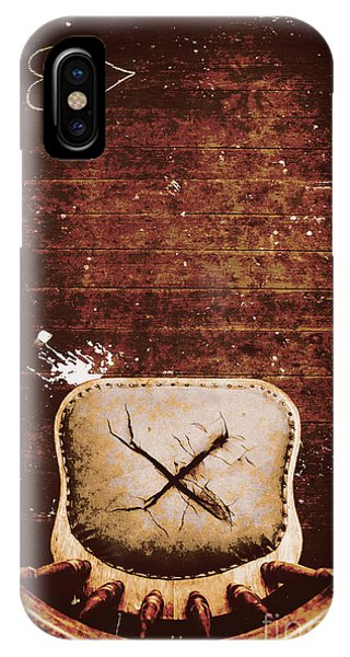 Missing iPhone Case - The Interrogation Room by Jorgo Photography - Wall Art Gallery