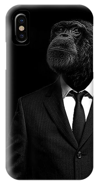 Portraits iPhone X Case - The Interview by Paul Neville