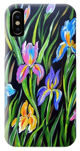 The Irises IPhone Case