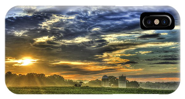 The Iron Horse New Corn Sunrise IPhone Case