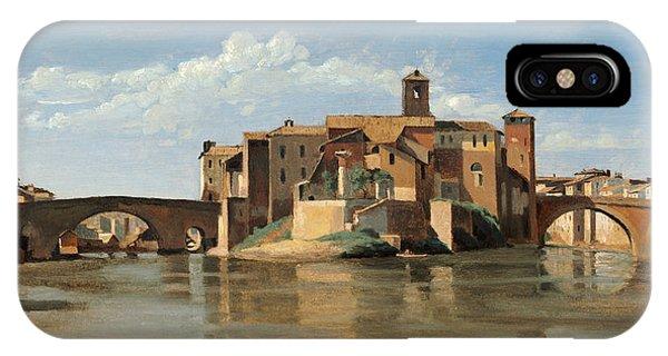 The Island And Bridge Of San Bartolomeo IPhone Case