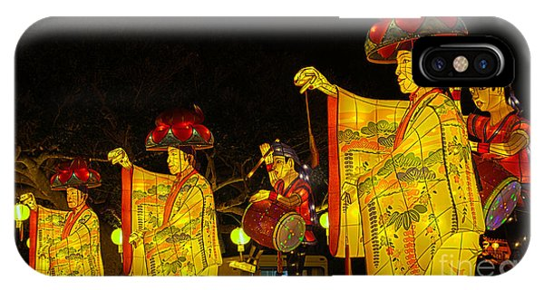 The Japanese Lantern Dancers IPhone Case