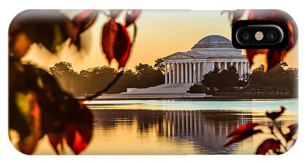 Jefferson In Autumn IPhone Case