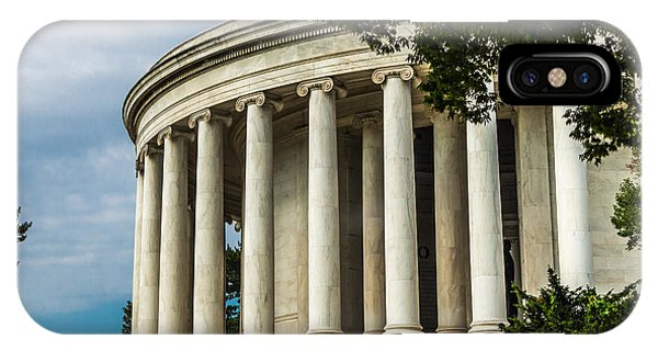The Jefferson Memorial IPhone Case